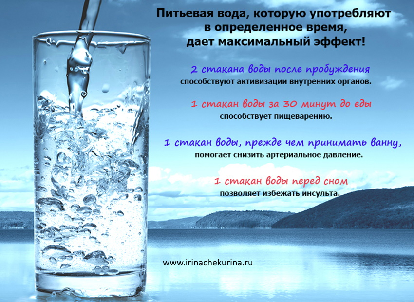 Pochemu neobhodimo pit' vodu pol'za vody