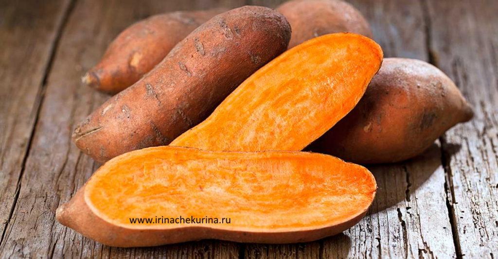 Tri produkta dlja pohudenija kartofel' batat