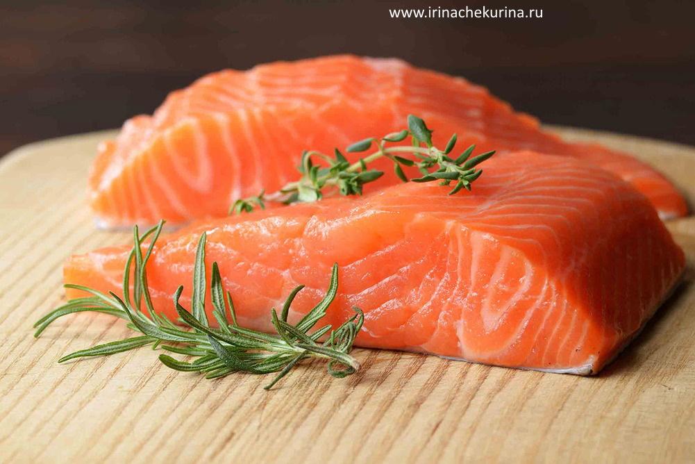 Produkty protiv starenija mozga: losos'