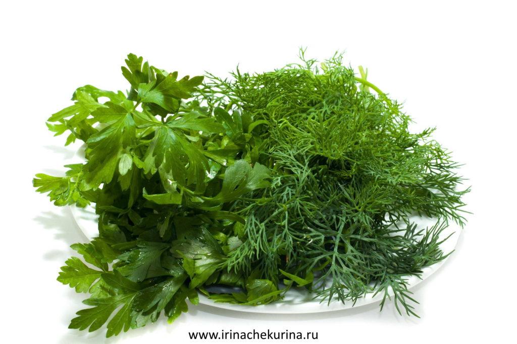 Produkty, kotorye pomogajut pohudet': zelen'